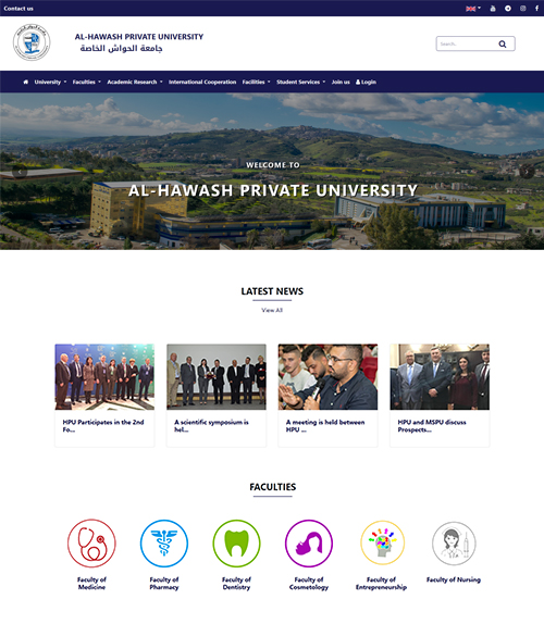 HPU, Al-Hawash Private University